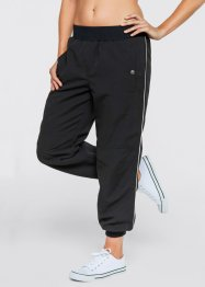 Pantalon microfibre 7/8, bpc bonprix collection, noir