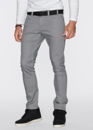Pantalon extensible Slim Fit Straight, RAINBOW, gris