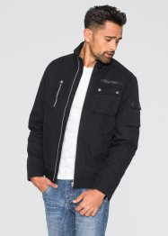 Blouson Slim Fit, RAINBOW, noir