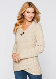 Pull, BODYFLIRT boutique, beige