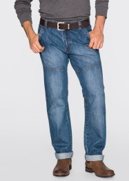 Jean Regular Fit Straight, John Baner JEANSWEAR, bleu (dirty)