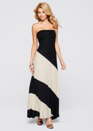 Robe, BODYFLIRT boutique, noir/beige
