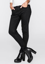 Pantalon extensible, RAINBOW, noir