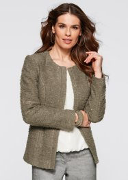 Veste, bpc selection, olive clair chiné