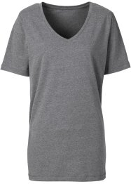 T-shirt, BODYFLIRT, anthracite chiné