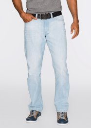 Jean Loose Fit Straight, John Baner JEANSWEAR, bleu clair used