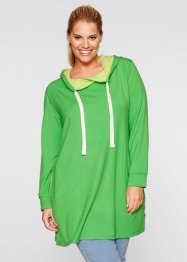 Le sweat-shirt long manches longues, bpc bonprix collection, vert amande