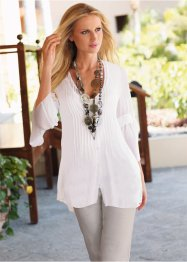 Blouse, bpc selection, blanc