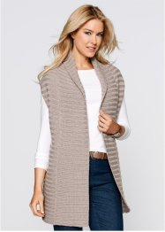 Gilet sans manches, bpc bonprix collection, blanc cassé