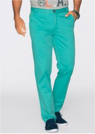 Chino Regular Fit Straight, bpc bonprix collection, vert océan