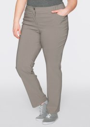 Pantalon 5 poches en bengaline, slim, bpc bonprix collection, taupe
