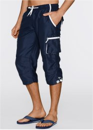 Pantalon 3/4 Regular Fit, bpc bonprix collection, bleu foncé