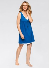 Robe style 2en1, bpc bonprix collection, bleu azur/blanc