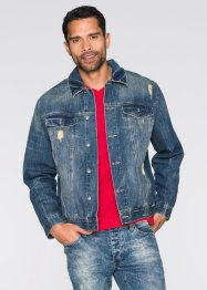 Veste en jean Regular Fit, RAINBOW, bleu dirty used