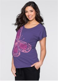 T-shirt de grossesse, bpc bonprix collection, violet