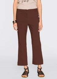 Pantalon flared 7/8, BODYFLIRT, marron clair