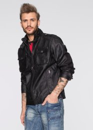 Blouson Regular Fit, RAINBOW, noir
