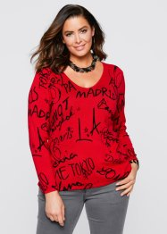 Pull, bpc selection, rouge / noir