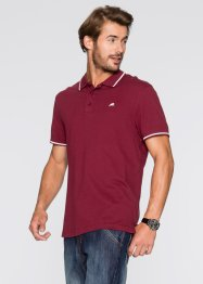 Polo Regular Fit, bpc bonprix collection, bordeaux