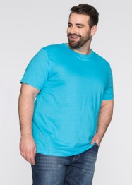 Lot de 3 T-shirts Regular Fit, bpc bonprix collection, blanc+turquoise+noir