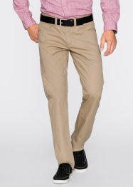 Pantalon 5 poches Regular Fit, Straight, bpc bonprix collection, beige