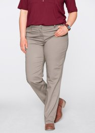 Pantalon extensible amincissant, bpc bonprix collection, taupe