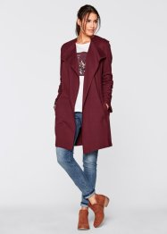 Trench manches longues, bpc bonprix collection, bordeaux