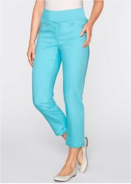 Pantalon confort super stretch 7/8, bpc bonprix collection, bleu ciel