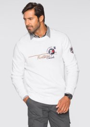 Pull Regular Fit, bpc selection, blanc