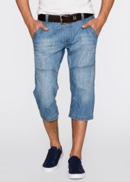 Jean 3/4 Regular Fit, John Baner JEANSWEAR, bleu