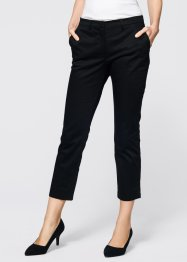 Pantalon extensible 7/8, bpc selection, noir/rouge baie
