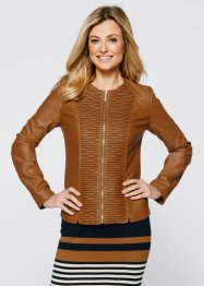 Veste simili cuir, bpc selection, bronze