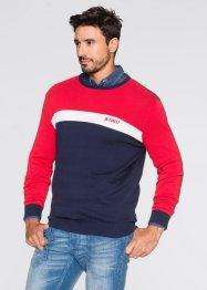 Pull Regular Fit, John Baner JEANSWEAR, rouge