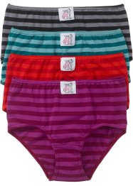 Lot de 4 maxi slips, bpc selection, rayé