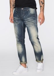 Jean Regular Fit Tapered, RAINBOW, bleu used