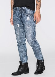 Jean Loose Fit Tapered, RAINBOW, dark bleu stone
