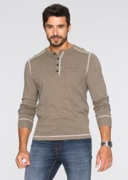 Pull Regular Fit, bpc bonprix collection, sable chiné
