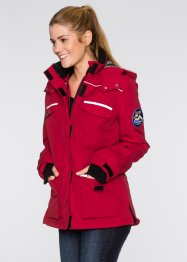 Veste fonctionnelle outdoor, bpc bonprix collection, rouge foncé