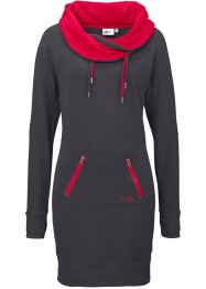 Robe sweat, bpc bonprix collection, gris ardoise chiné