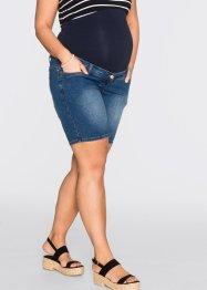 Short en jean de grossesse, bpc bonprix collection, bleu stone