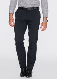 Pantalon en laine vierge Regular Fit, bpc selection, noir