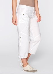 Pantalon 3/4, bpc bonprix collection, blanc
