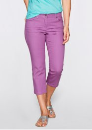 Pantalon extensible 3/4, bpc bonprix collection, mûre mat