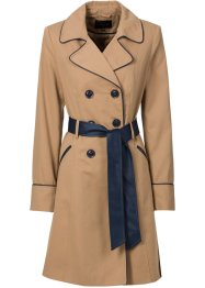 Trench-coat, BODYFLIRT, camel mat