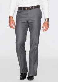 Pantalon de costume Regular Fit Straight, bpc selection, gris chiné