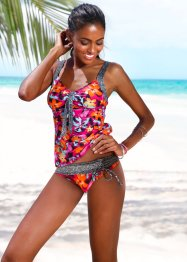 Haut de tankini, BODYFLIRT, orange/fuchsia