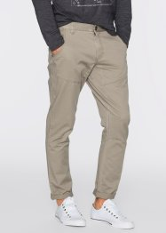 Pantalon Regular Fit Tapered, RAINBOW, kaki