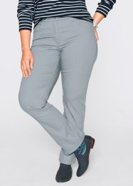 Pantalon super stretch, droit, bpc bonprix collection, gris argent