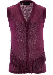 Gilet sans manches, bpc selection, prune