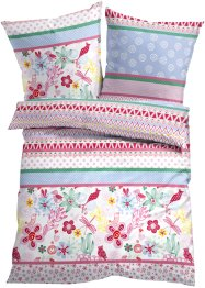 Linge de lit Scandi Flower, bpc living, rose